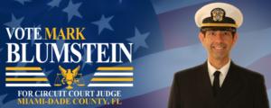 Candidate Mark Blumstein